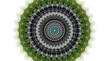 Bright Colored Lace Abstract Background Kaleidoscope Closeup