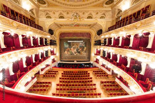 Lviv opera house interior Fototapeta