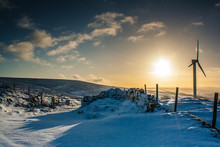 Snow In The Calder Valley