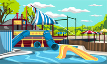 Waterpark Kiddie Pirate Ship P...