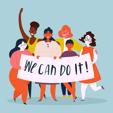 We Can Do It Poster. Woman Rig...