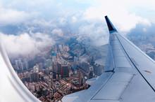 Plane To Hong Kong. Airplane W...