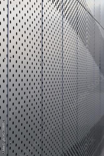 Valokuvatapetti Perforated metal panel
