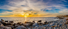 Coastal Shoreline Seascapes Of...