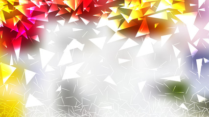 Jasny kolor geometryczny trójkąt tło