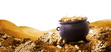 3D Illustration Of A Cauldron ...