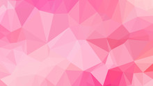 Abstract Pink Polygon Backgrou...
