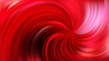 Abstract Red Swirl Background Vector Art