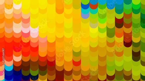 Photo Colorful Geometric Shapes Background