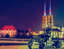 Katedra świętego Jana Chrzciciela, Wrocław Polska Poland Polen