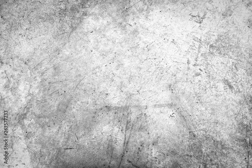 Poster de jardin Metal Black and white grunge urban texture with copy space. Abstract surface dust and rough dirty wall background or wallpaper with empty template for all design. Distress or dirt and damage effect concept