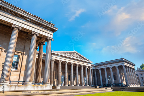 Photo  The British Museum in London, UK