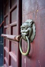 Traditional Chinese Metal Door...