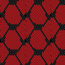 Vector Snake Pattern. Backgrou...