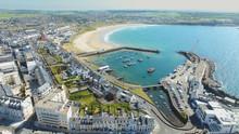Portrush Town Atlantic Ocean N...