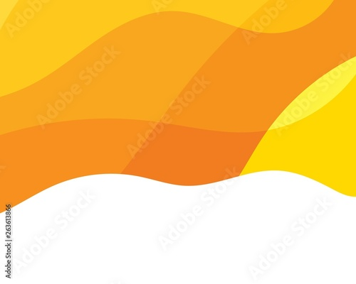 Dynamic texture orange background