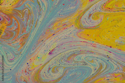 Printed kitchen splashbacks Purple Abstract grunge art background texture with colorful paint splashes