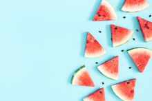 Watermelon Pattern. Red Waterm...