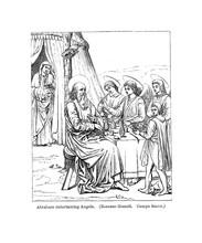 Christian Illustration. Old Im...