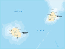 Vector Map Of The Mascara Isla...