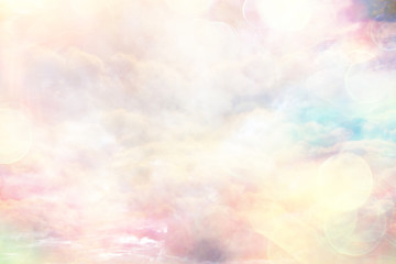 Panel Szklany Do cukierni abstract pink colored background / blurred multicolored clouds, spring background
