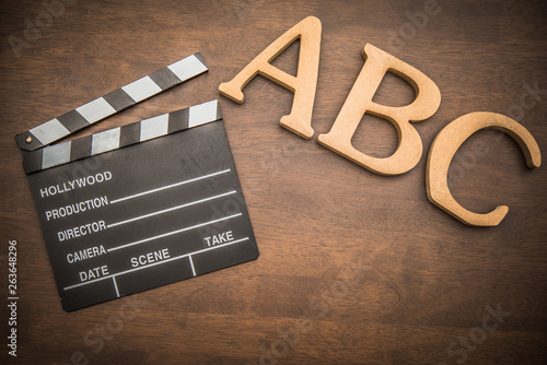 Fotografie, Obraz  英語と映画