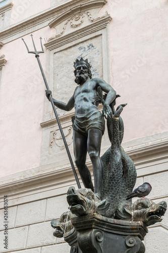 Fotografie, Obraz  Centro storico di Bolzano, Bozen, Trentino Alto Adige, Italia