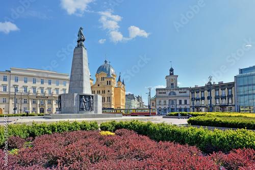 Obraz Plac Wolności- Łódź, Polska - fototapety do salonu