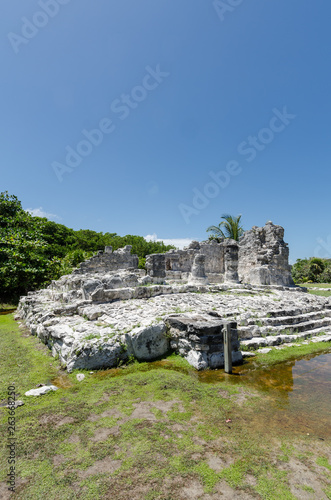 Ancient Ruins of El Rey in Cancun, Mexico Wallpaper Mural
