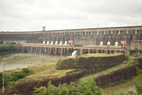 Deurstickers Dam pont du aqueduct in france