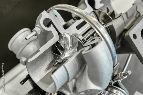 The car turbocharger.