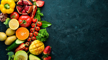 Fresh Fruits, Vegetables And B...