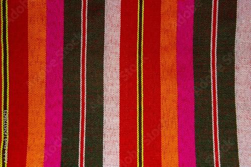 Cuadros en Lienzo Abstract plaid Texture Background of loincloth or Thai Bathing Cloth