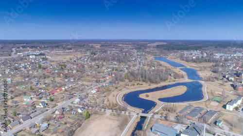 Photo  17937_Aerial_view_of_the_small_town_of_Valka_in_Latvia.jpg