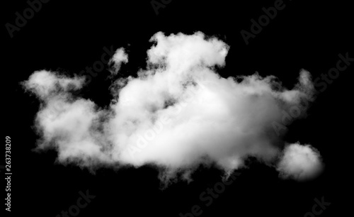 Canvas Prints Heaven Clouds on black background.sky background