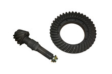 Gear Ring And Pinion, Differential, Isolated On White Background