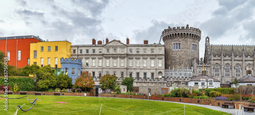 Photo Dublin castle, Ireland