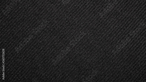 Black and white fabric background.