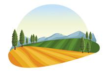 Farm Lanscape Icon
