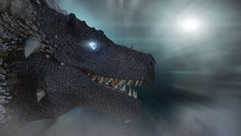 The Dragon With Blue Eyes 3D R...