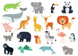 animals illustration for zoo and nature