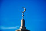 Fototapeta Londyn - półksiężyc na minarecie