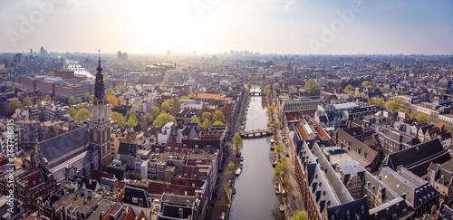 Photo  Aerial view of Zuiderkerk in Amsterdam, Netherlands