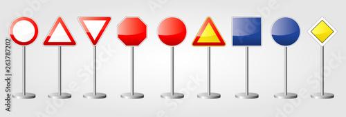 Valokuvatapetti Panneaux de signalisation