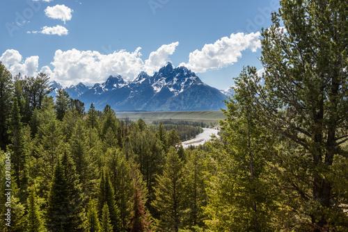 Fotografía Snake River Overlook at Grand Teton National Park
