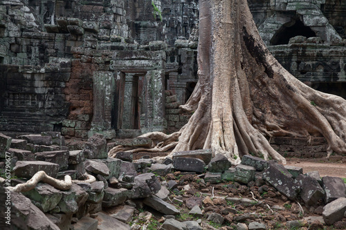 Banteay Kdei temple, Angkor Wat, Cambodia Canvas Print