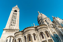 The Sacre Coeur From The Rear In Montmare, France.