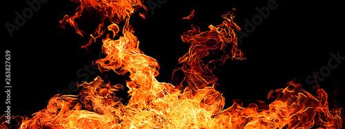 Fotografie, Obraz  火の素材