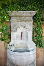 Vintage French Water Fountain