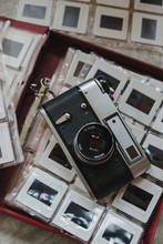 Positive Film And Russian Camera